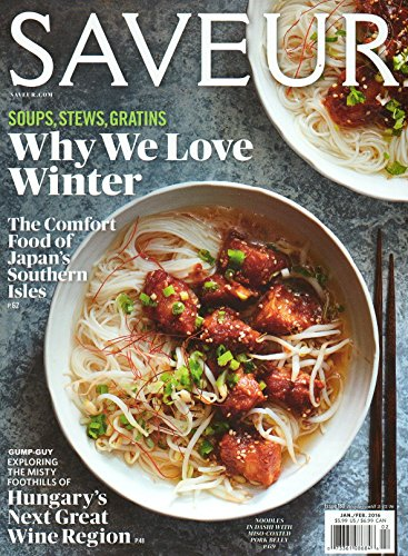 Saveur Magazine January / February 2016 (Pickled Broccoli compare prices)