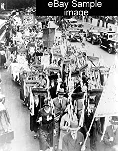 Amazon.com - 1920s TITLE: Great disarmament procession ...