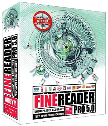 Abbyy finereader 5.0