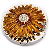 Round Metal Folding Rhinestone Flower Handbag Bag Purse Table Hook Hanger Holder