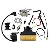 Carbhub Carburetor for Stihl 021 023 025 MS210 MS230 MS250 Chainsaw Carb with 1123 160 1650 Air Filter Ignition Coil Fuel Line Tune Up Kit Replace Walbro WT286