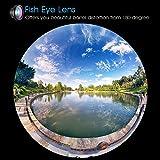 VicTsing Clip 3-in-1 180°Fish-Eye Lens+Wide Angle Lens+Micro Lens Camera Lens Kits