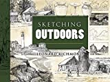 img - for Sketching Outdoors (Dover Art Instruction) book / textbook / text book