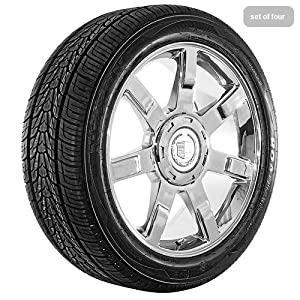 22 Inch Chrome 50 Series Wheels Rims and Tires for Cadilac