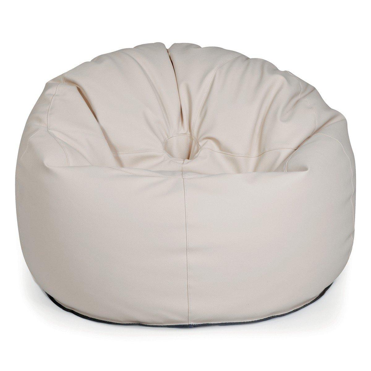 Design Outbag Deluxe Donut Sitzsack 90 x 90 cm Kunststoff Farbe wählbar, Farbe:Sand bestellen