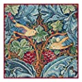 Birds and Acanthus Vine by Arts and Crafts Movement Founder William Morris Counted Cross stitch Chart