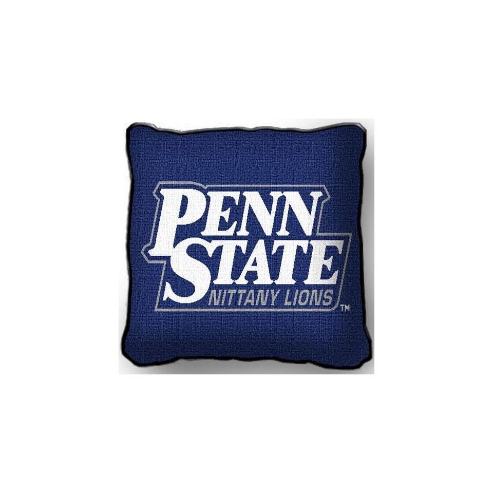 Univ Lion Head Logo Pillow   17 x 17 Pillow   Penn State Nittany Lions