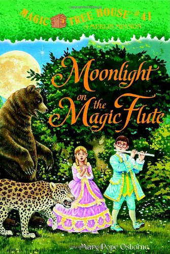 Magic Tree House #41: Moonlight on the Magic Flute cover image