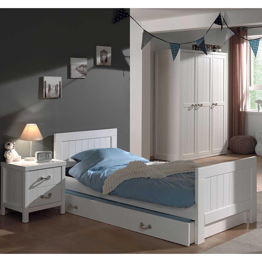 Jugendzimmermöbel Set in Weiß online bestellen (4-teilig) Pharao24
