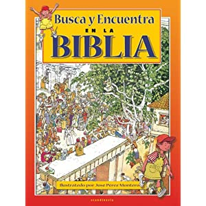 Busca y Encuentra en la Biblia (Seek and Find in the Bible) (Spanish Edition)