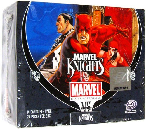 Vs System Marvel Knights Booster Box by Upper Deck (Marvel Knights Vs System compare prices)