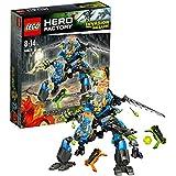 Lego Hero Factory - 44028 - Jeu De Construction - Le Robot 2en1 De Surge Et Rocka