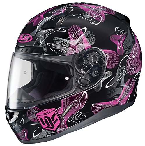 HJC CL-17 Mystic Full-Face Motorcycle Helmet (MC-8, Large)