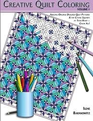 Creative Quilt Coloring (Volume 1)