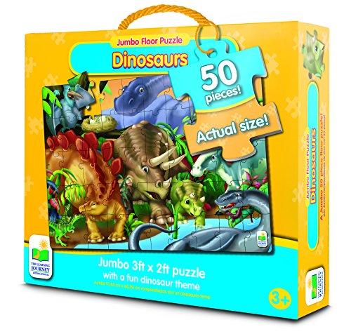 The Learning Journey Jumbo Floor Puzzles, Dinosaurs