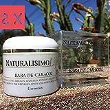 2 Baba de Caracol Snail Cream Organic Arrugas Acne