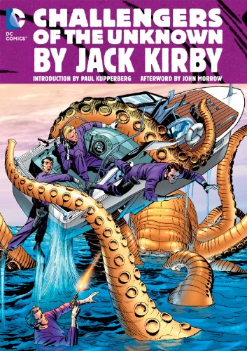 Challengers Of The Unknown Omnibus By Kirby HC