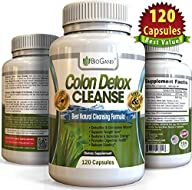 #1 Dual-Action COLON DETOX CLEANSE (1…