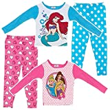 AME Girls 4-8 Four Piece Disney Princess Pajama Set