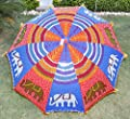 Dekorative Außen Regenschirm Sonnenschirm Garten Parasol 133 x 183 cm von Lalhaveli - Gartenmöbel von Du und Dein Garten