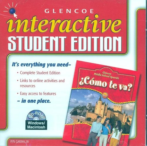 ¿Cómo te va? Intro Nivel rojo, Interactive Student Edition (MIDDLE SCHOOL SPANISH INTRO) (Spanish Edition)