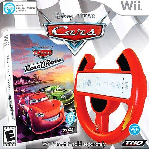Cars Race-o-rama with Cars Wii Wheel