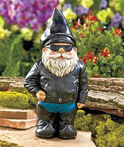 biker-garden-gnome-statue-by-besti-outdoor-garden-figurine-in-motorcycle-leather-jacket-excellent-ga