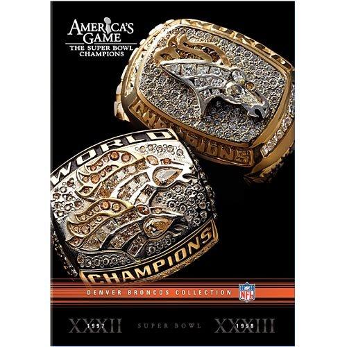 Warner Brothers America's Game: Denver Broncos Super Bowl Dvd Collection Picture