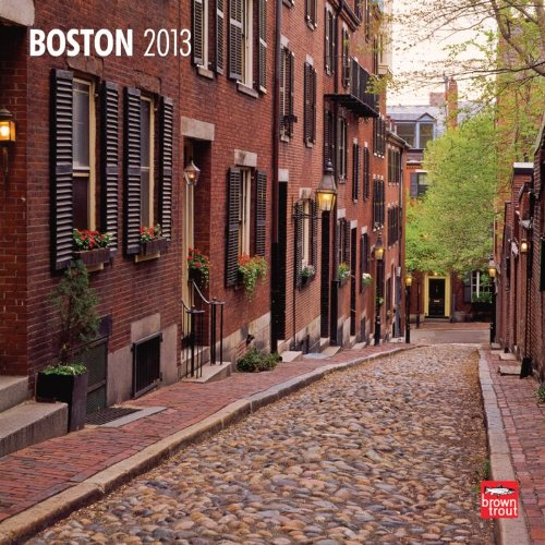 Boston 2013 Square 12X12 Wall Calendar