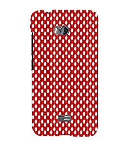 EPICCASE funky drops Mobile Back Case Cover For Micromax Q336 (Designer Case)