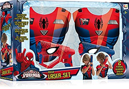 Spiderman - 550902 - Jeu Électronique - Mega Laser Set  - Spider-Man 4