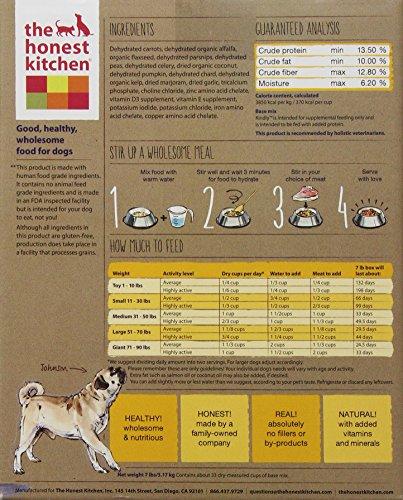The Honest Kitchen Kindly: Grain Free Base Mix Dog Food, 7 lb_Image4