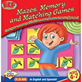 Early Learning Fun: Mazes, Memory and Matching Games