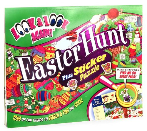 Easter Hunt Plus Sticker Puzzle (Look & Look Again Series) - 1