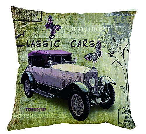 Beautfuldecor Classic Car Custom Pillow Case (18x18 inch )45cm x45cm ,One side