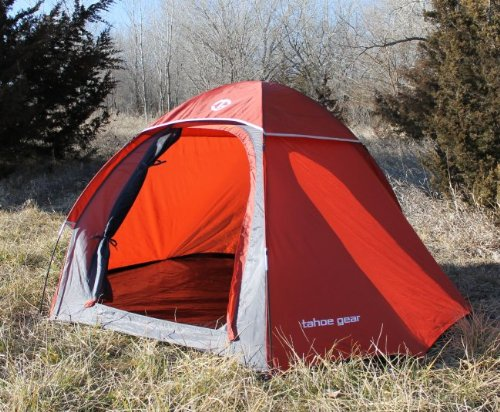Tahoe Gear Hiker 2 Person 3-Season Portable Lightweight Backpacking Tent