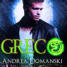 Greco: The Omega Group, Book 1.5 (       UNABRIDGED) by Andrea Domanski Narrated by David Dietz
