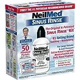 NeilMed SinusRinse Saline Nasal Rinse Kit - 50 Sachetsby NeilMed