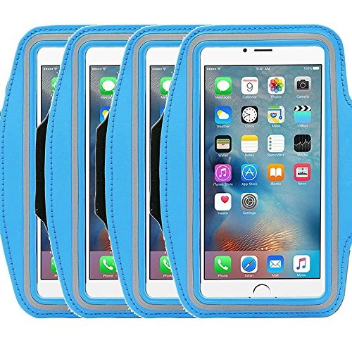 Universal Sports Armband for 5.7 Inch Screen Apple iPhone 6/6s iPhone 6/6s Plus Samsung Galaxy S7/S6/S5/S4 Sweatproof Running ArmBelt With Small Holder & Pouch for Keys Card (Samsung Galaxy A5 Mini compare prices)