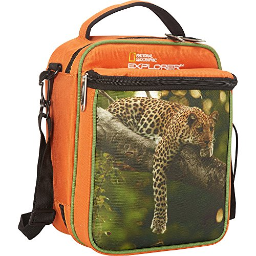 National Geographic Boy's Lunch Tote, Leopard, One Size - 1