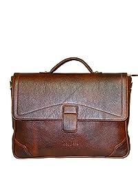 Bagpesa Leather Sling Bag (Brown) (10806)