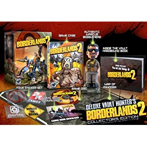 Borderlands 2 Deluxe Vault Hunter's Edition Xbox 360 Video Game