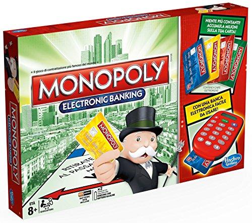 Hasbro - Monopoly Electronic Banking Gioco da Tavolo [Versione Italiana]