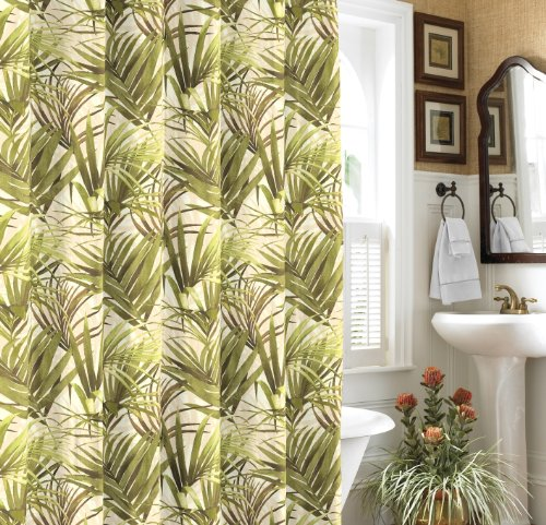Tommy Bahama Tropical Palms Shower Curtain 883893166462