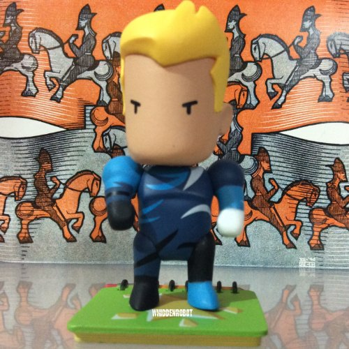 """Scribblenauts Unmasked Series 2 DC Collectibles Aquaman 2.5"""" Vinyl Figure (Opened to Identify Contents) - 1"""