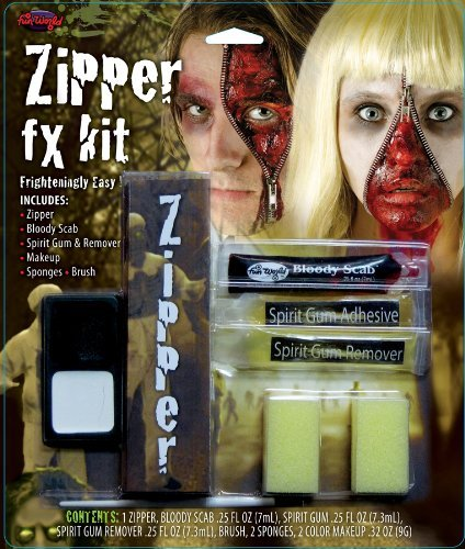 [Zipper FX Makeup Kit Costume Makeup] (Zipper Fx Kit)