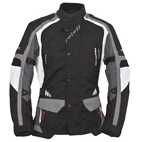 Roleff Racewear 6405 Blouson Moto Noir/Blanc/Gris XL