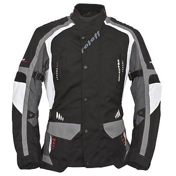 Roleff Racewear 6403 Blouson Moto Noir/Blanc/Gris M