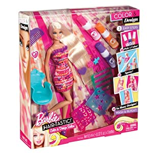 Barbie Hair-Tastic Colour & Design Salon