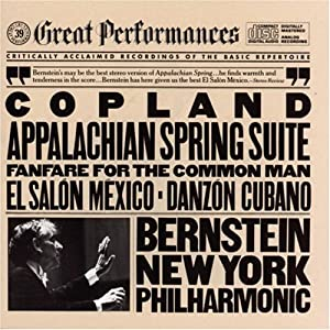 Copland appalachian spring fanfare for the common man el for Aaron copland el salon mexico